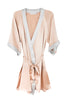 GRACE ROSE/SILVER SHORT ROBE