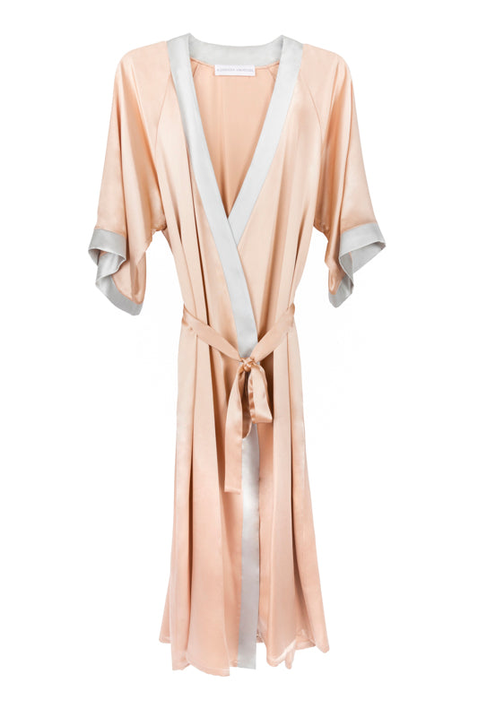 MILLIE ROSE/SILVER LONG ROBE