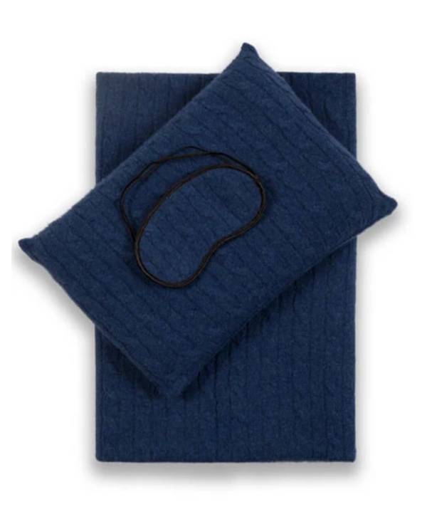 COZY CASHMERE SET - TRUE BLUE