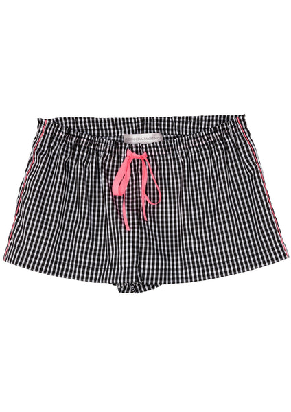 Julia Shorts in Black/White Gingham