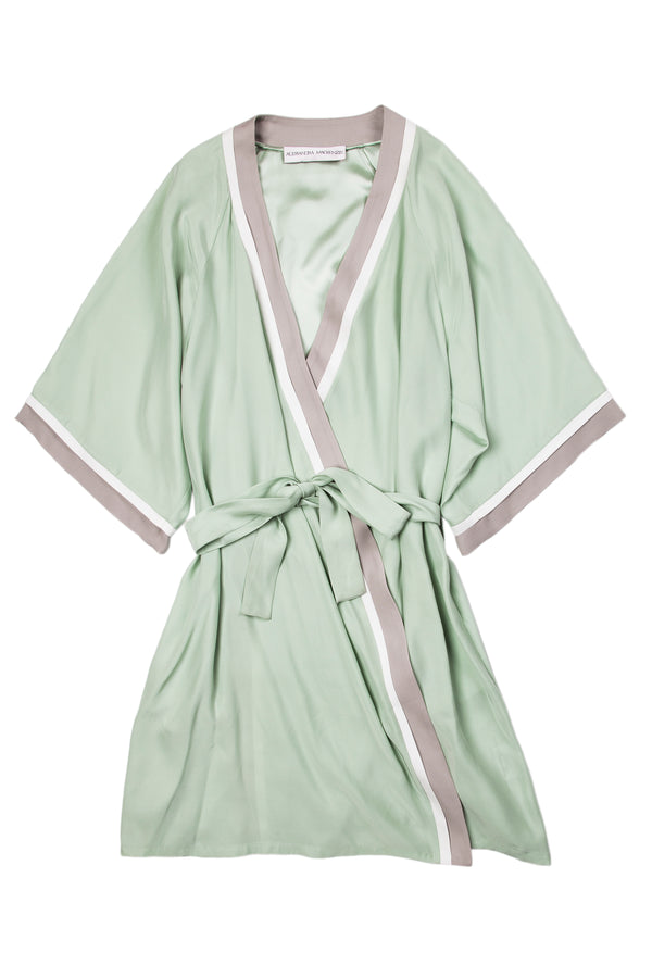 GRACE MINT ROBE