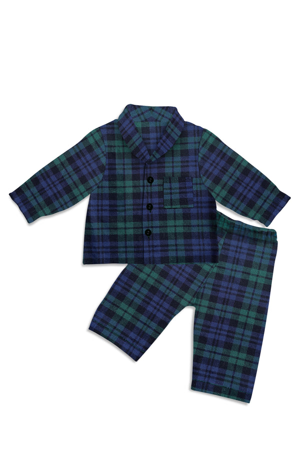 KIDS PLAYSUIT - BLACKWATCH