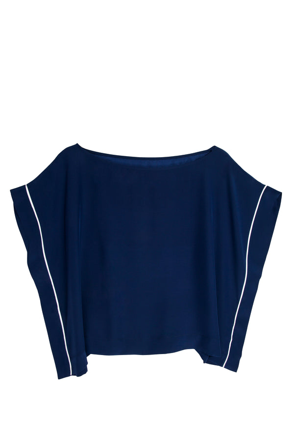 OLGA NAVY/WHITE TOP