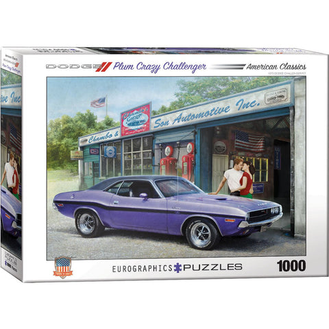 Dodge Plum Crazy Challenger Pz1000