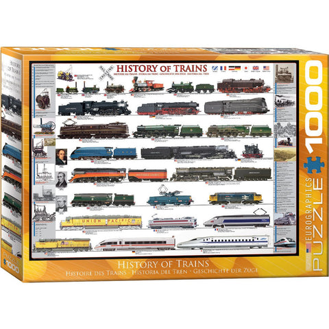 History of Trains pz 1000