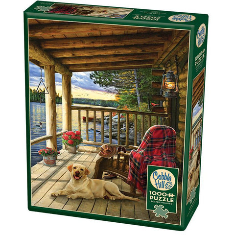 Cabin Porch 1000 pc