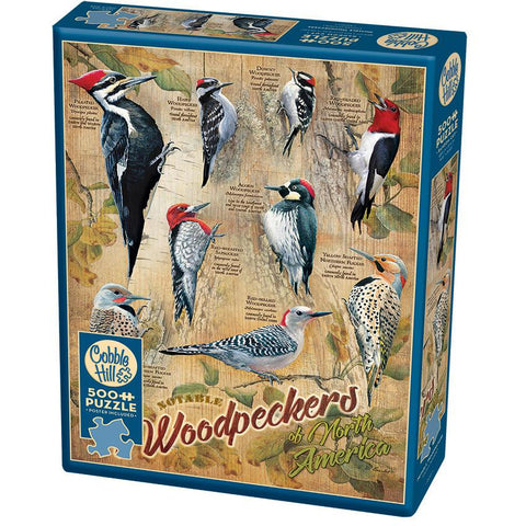 Notable Woodpeckers Pz500