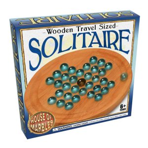 Wooden Travel Sized Solitaire