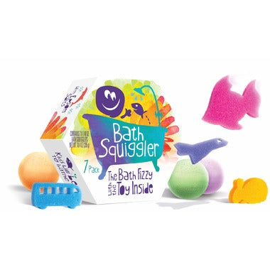 Bath Squiggler Fizzy 7 Pack