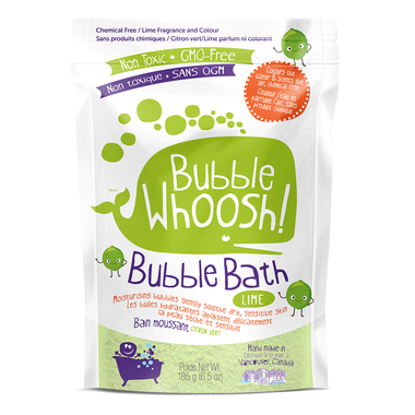 Bubble Whoosh Bubble Bath Lime 185g