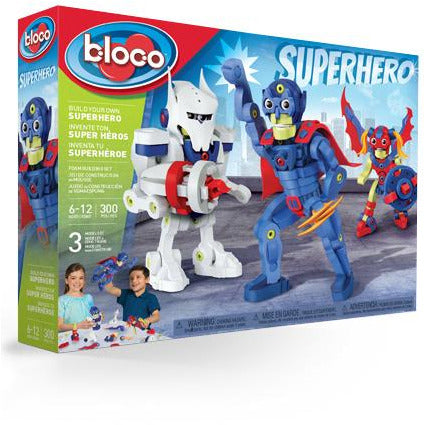 Bloco Build Your Own Superhero