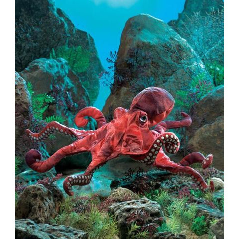 Octopus, Red Puppet 2974