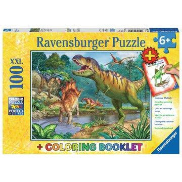 World of Dinosaurs Pz100 + Colouring Book