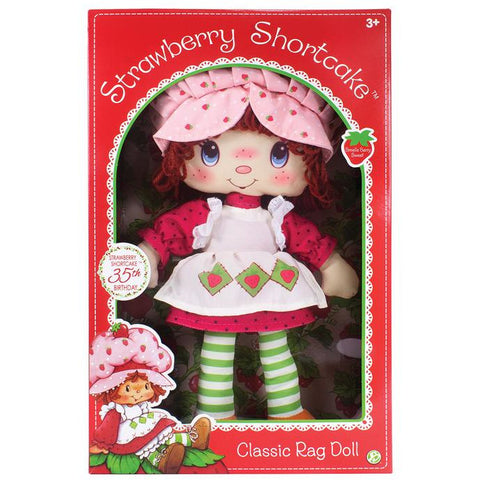 "Strawberry Shortcake 13"" Rag Doll"