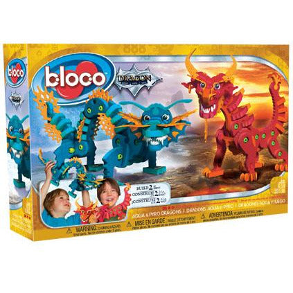 Bloco Aqua Dragon & Pyro Dragon