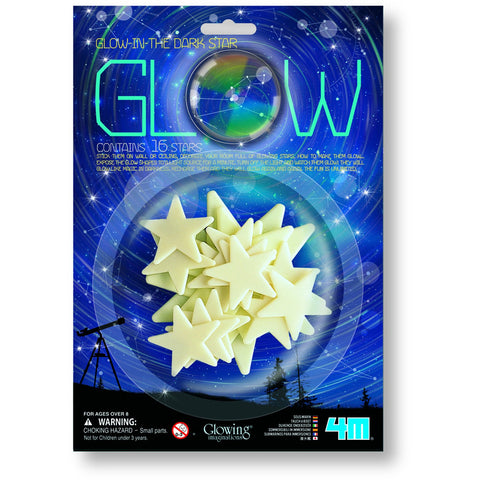4M Glow in the Dark Stars 16pc