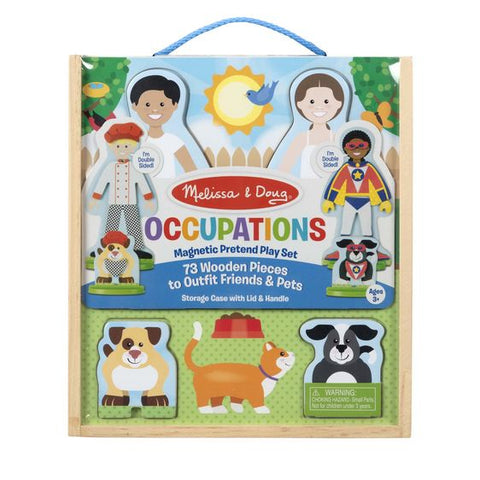 Occupations Magnetic Dress-Up