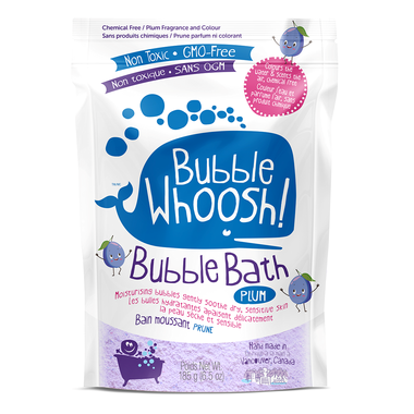 Bubble Whoosh Bubble Bath Plum 185g
