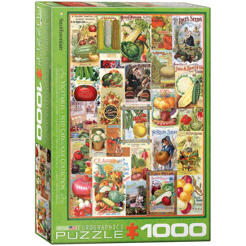 Vegetables - Seed Catalogues pz 1000