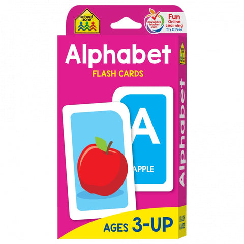 School Zone Alphabet Flash Cards