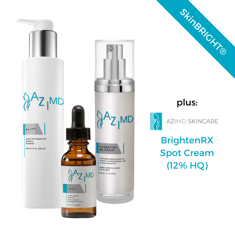 SkinBright Kit w BrightenRX Spot Cream (12% HQ)