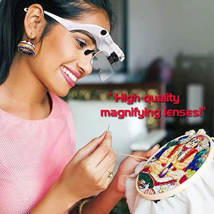50%OFF TODAY~ILLUMINATED HEAD MAGNIFIER