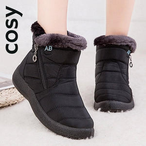 COSY Winter Warm Waterproof Snow Flock Zip