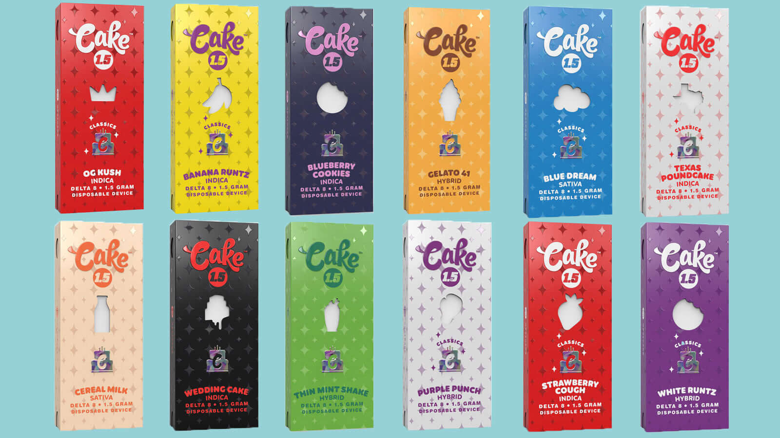 Cake Delta 8: First Rechargeable Disposable Carts