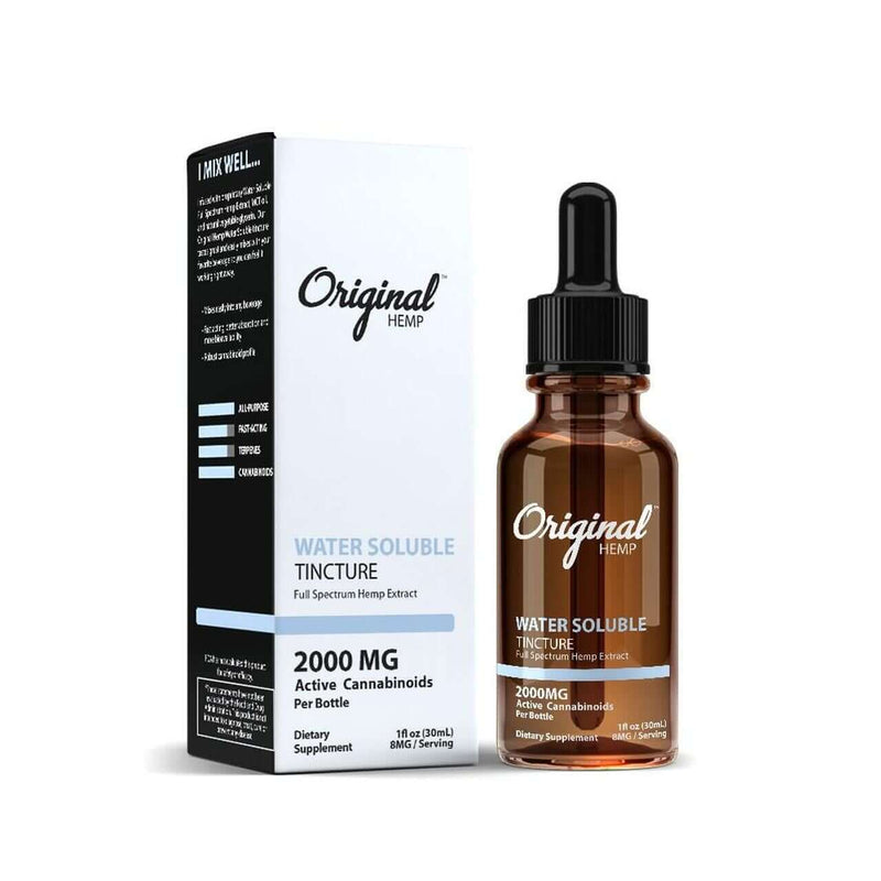Water Soluble CBD Tincture By Original Hemp