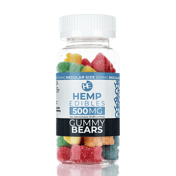 Hemp Edible CBD Gummies By Yami Vapor CBD 500mg