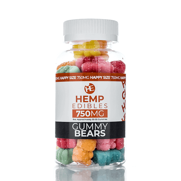Hemp Edible CBD Gummies By Yami Vapor CBD 750mg