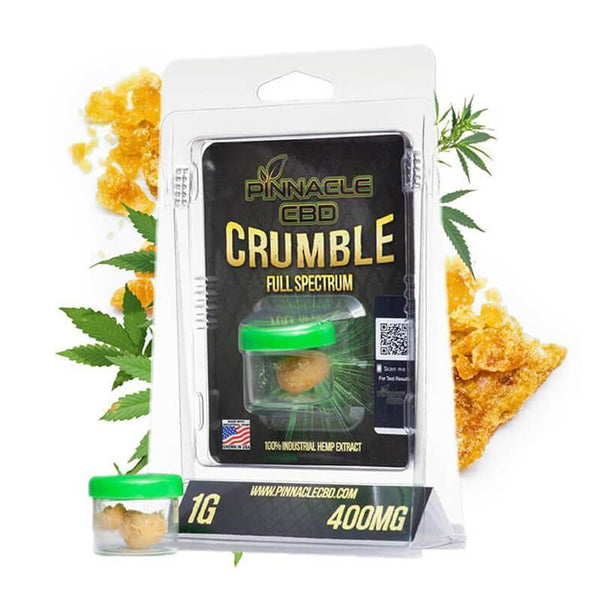 Pinnacle Hemp CBD Crumble 400mg