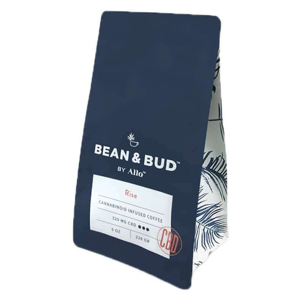 Allo CBD  Bean & Bud Rise CBD Coffee 320mg
