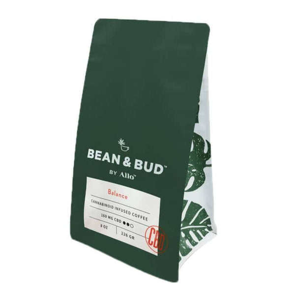 Allo CBD | Bean & Bud CBD Coffee Balance 160mg