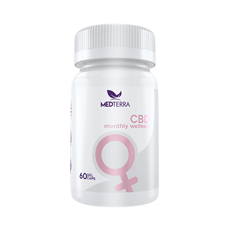 Medterra Woman's Monthly CBD Wellness Capsules 25mg