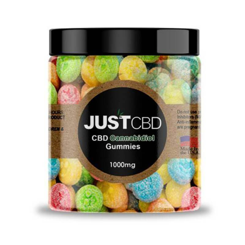 Happy Face  1000mg CBD Gummies By JustCBD