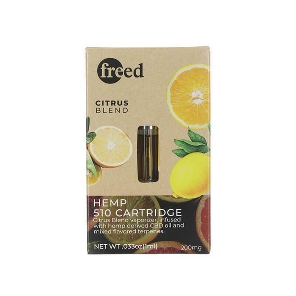 Freed Citrus Blend CBD Cartridge 200mg