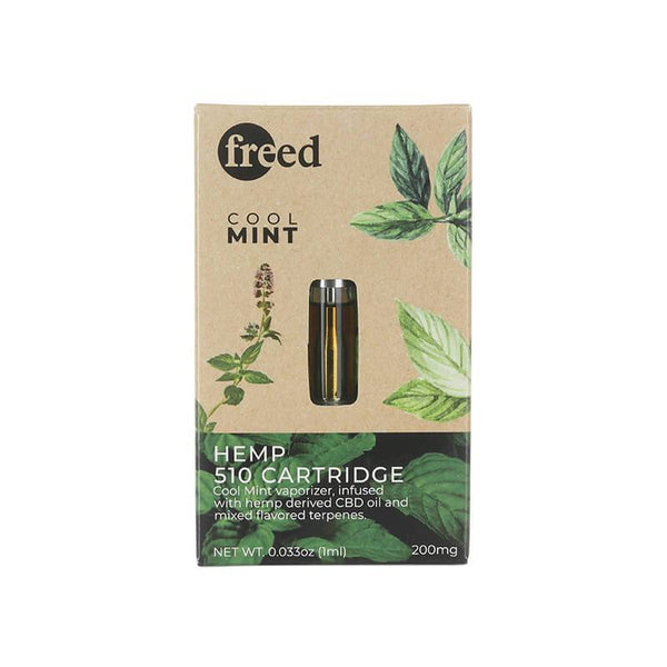 Freed Cool Mint CBD Cartridge 200mg