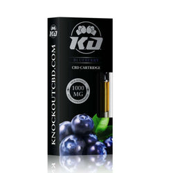 Knockout CBD Blueberry CBD Cartridge 1000mg