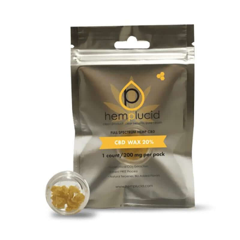 Hemplucid Whole Plant CBD Wax 200mg