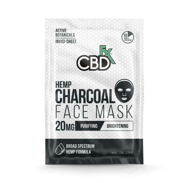 CBDFX Charcoal CBD Face Mask 20mg