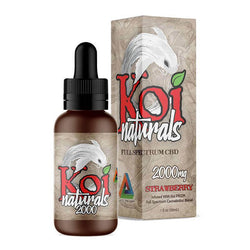 Koi CBD Strawberry CBD Tincture 250mg - 2000mg