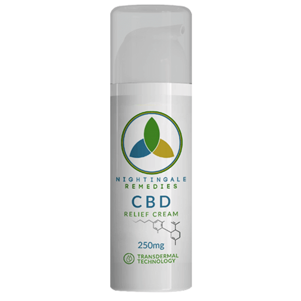 Nightingale Remedies  CBD Relief Cream 250mg