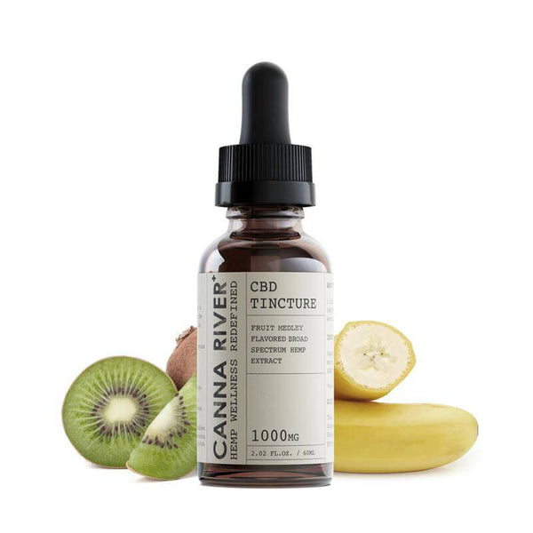 Canna River Fruit Medley Broad Spectrum CBD Tincture 1000mg