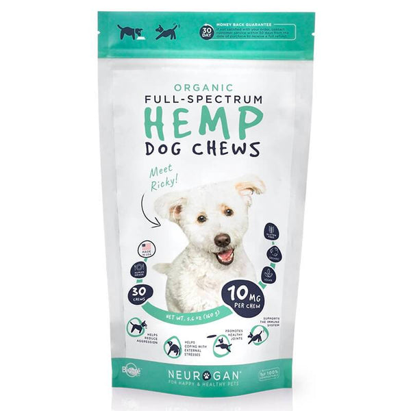 Neurogan, Inc.  CBD Pet Treat  Full Spectrum Dog Treats 10mg