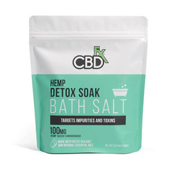 CBDFX Detox Bath Salt 100mg