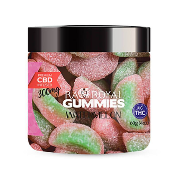 Watermelon CBD Gummies By RA Royal CBD 60g