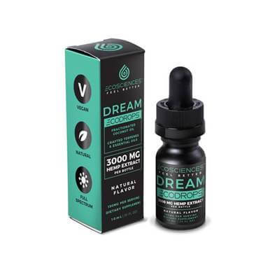 Eco Sciences Ecodrops CBD Dream 10mL 3000mg