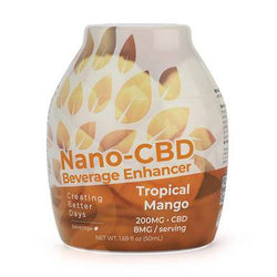 Creating Better Days Tropical Mango CBD Drink Mix 200mg