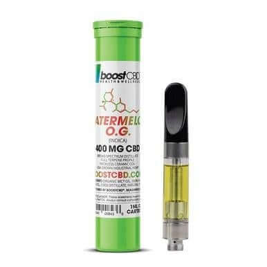 BoostCBD Watermelon OG CBD Cartridge 400mg